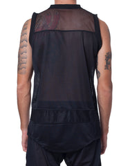 Bleach Basketball Jersey Black