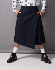 Bleach Project Thermal Flap Culottes Front