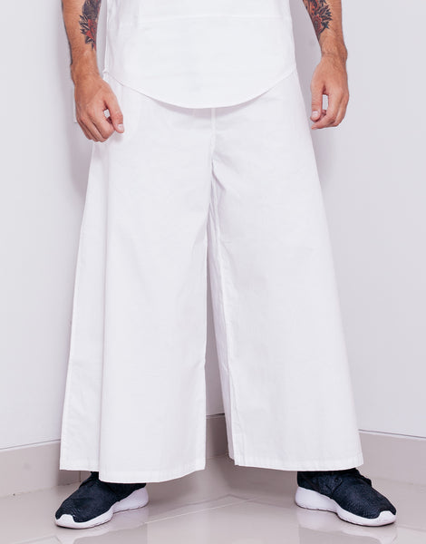 Bleach Crisp Wide Legged Pants