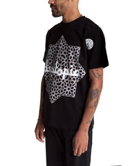 Dystopia Oversized Star Tee Black Side