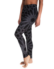 Dystopia Full Star Print Leggings Side