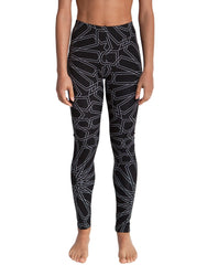 Dystopia Full Star Print Leggings Front