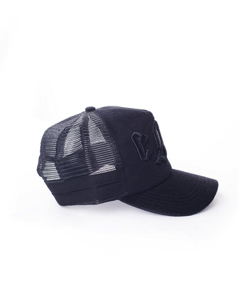 EGR Logo Cap Black On Black