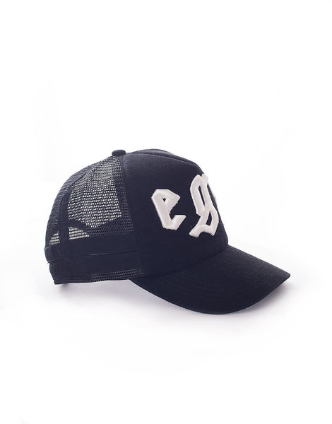 EGR Logo Cap White On Black