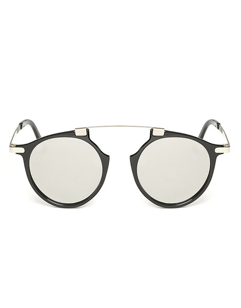 Eighty6 Mischiefs Black and Silver Sunglasses
