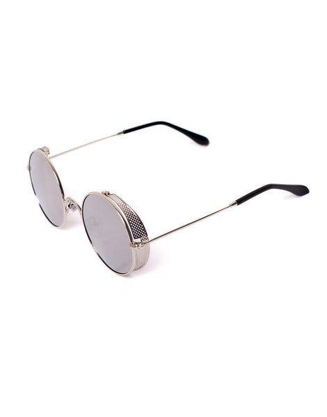 Eighty6 Skinny Silver Sunglasses
