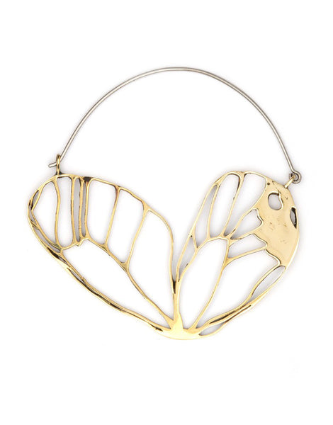 eleven44 Butterfly Hoop Earrings