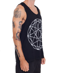 Nemis Clothing GEO Tank Black Side