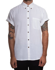 Handsome Me White Short Sleeve Shirt