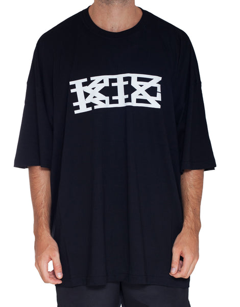 KTZ Black Oversized Logo T-Shirt