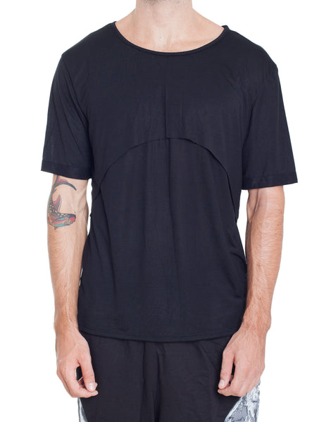 Bleach Double Layer Tee Black