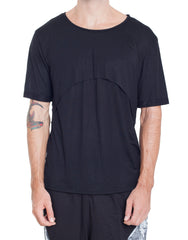 Bleach Project Double Layer Tee Black Front