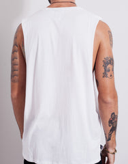 Bleach BP Square Muscle Tee White Back