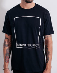 Bleach BP Square Tee Black Print Details