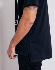 Bleach BP Square Tee Black Hemline
