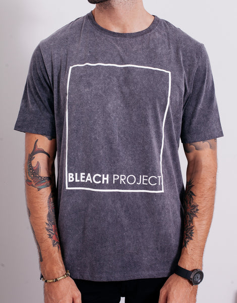 Bleach BP Square Acid Wash Tee
