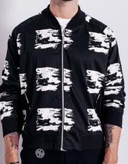 Bleach Brushes Bomber Jacket Front
