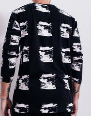 Bleach Brushes Long Sleeve Tee Back