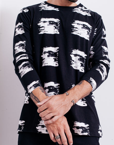 Bleach Brushes Long Sleeve Tee