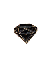 Diamond Ring Black