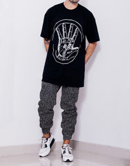 Nemis Night Sky Tapered Pants Outfit 2