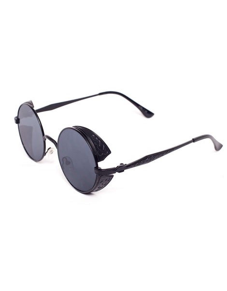 Eighty6 Ornament Black Sunglasses