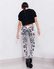 eleven44 Geo Print Leggings Back