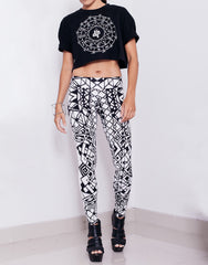 Dystopia Astro Sphere Crop Top Outfit