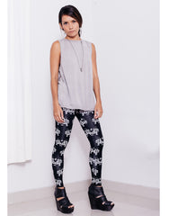 eleven44 Grey Supima Muscle Tee Outfit