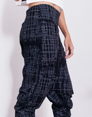 eleven44 Gridlock Low Crotch Pants Details