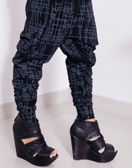 eleven44 Gridlock Low Crotch Pants Legs
