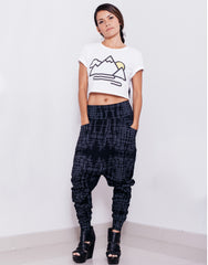 eleven44 Gridlock Low Crotch Pants Outfit