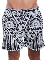 KTZ Sun Moon Print Shorts
