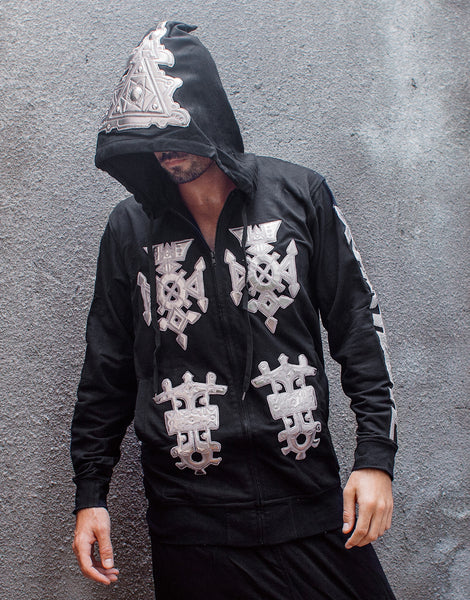 KTZ Embro Metallic Jewel Patch Hoodie Jacket