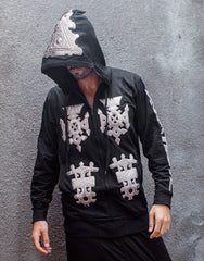 KTZ Embro Metallic Jewel Patch Hoodie Jacket Main