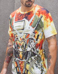 KTZ Explosion Digital Printed T-shirt Main