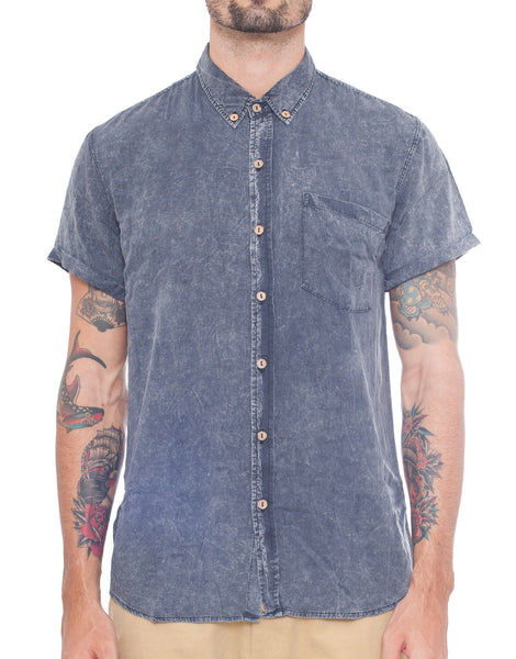 Naken Black Wash Vacay Shirt