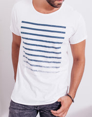 Naken Fader Tee White Main
