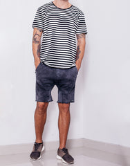 Naken Soul Shorts Black Wash Outfit