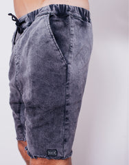 Naken Soul Shorts Black Wash Left Pocket
