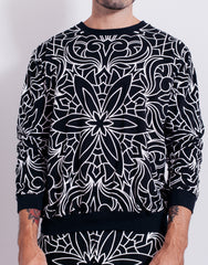Nemis Abstraction Sweater Black Main