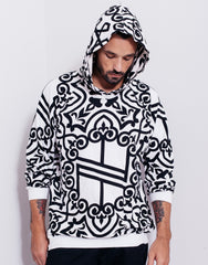 Nemis Knights Full Print Logo Hoodie White Main