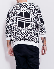 Nemis Knights Logo Sweater Black Back