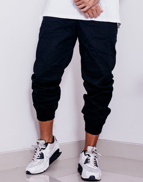 Nemis Black Tapered Pants