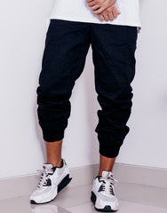 Nemis Black Tapered Pants Main