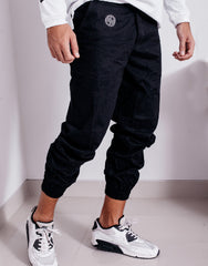 Nemis Black Tapered Pants Details