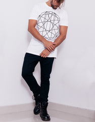 Nemis GEO Tee White Outfit