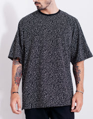 Nemis Night Sky Oversized Tee Front Sleeves Down