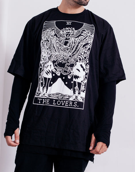 PANTAINANAS Lovers Tee Black