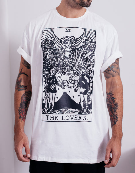 PANTAINANAS Lovers Tee White